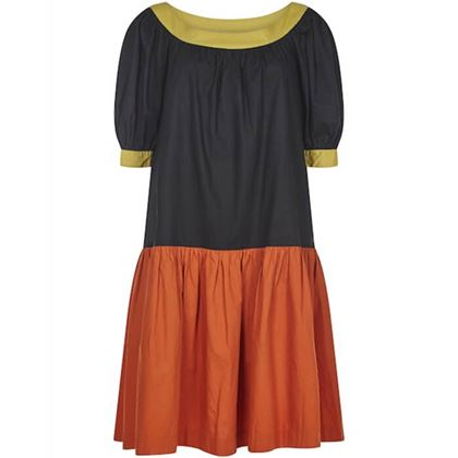 yves-saint-laurent-1980s-peasant-dress-with-drop-waist-and-billowed-sleeves-uk-size-10