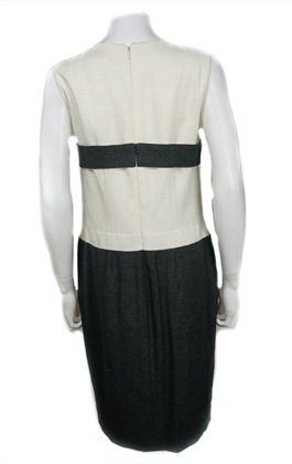 chanel-09p-dress-us-8-40-black-and-white-with-bow-sleeveless