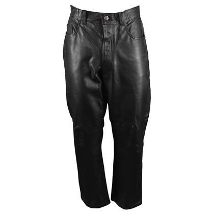 Paul Smith 1990s Vintage Leather Pants