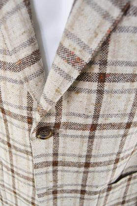 Aquascutum 1970s Men's Plaid Vintage Blazer