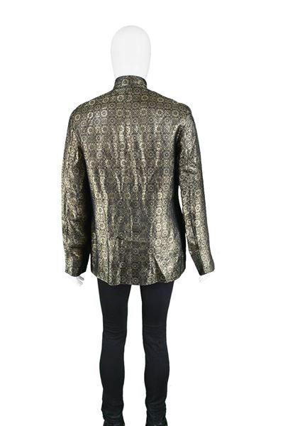 Vintage 1960s Men's Gold Brocade Vintage Jacket