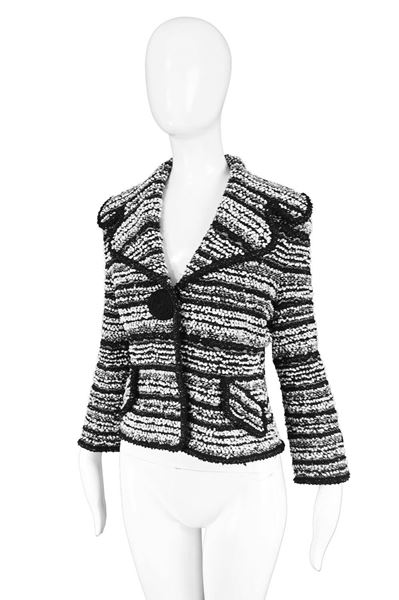 Escada Textured Tweed Jacket