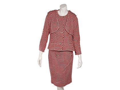 red-white-vintage-chanel-skirt-suit-set-l-red