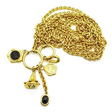 Picture of FENDI VINTAGE GOLD CHAIN BELT  OR NECKLACE WITH CHARMS