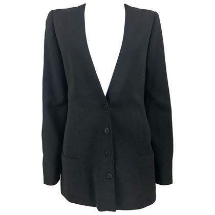 chanel-black-light-wool-blazer-jacket-2003