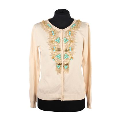 blumarine-ivory-silk-knit-embroidered-cardigan-size-s