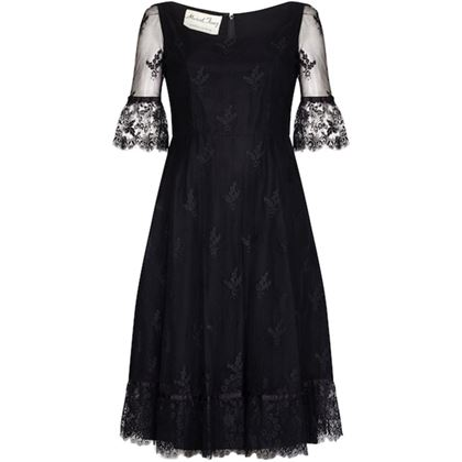 marcel-fenez-1960s-black-cocktail-dress-with-lace-cuffs-uk-size-8-10