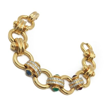 vintage-gilt-jewel-curb-bracelet-attributed-to-givenchy