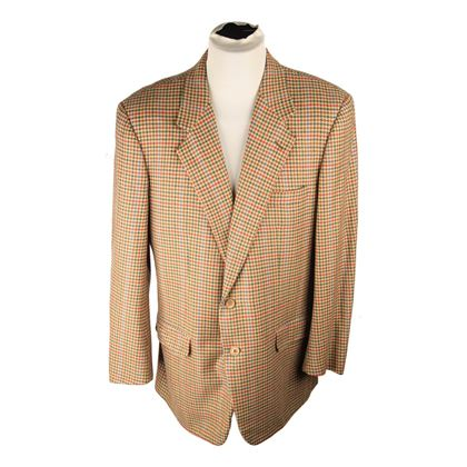 burberry-beige-houndstooth-cashmere-2-button-blazer-men-jacket