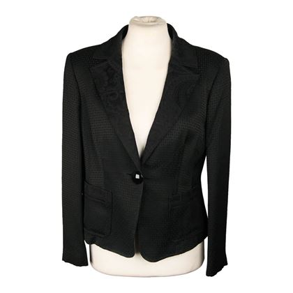 etro-milano-black-checkered-jacquard-blazer-jacket-size-42