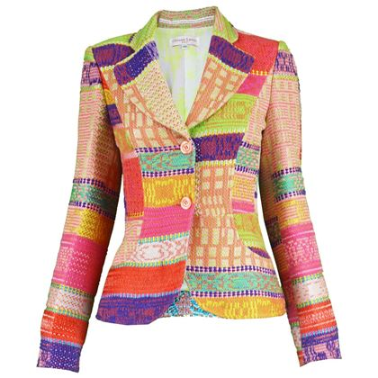 Christian Lacroix Multicoloured Blazer Jacket