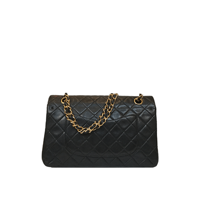 Chanel Classic Flap Bag With Gold Hardware