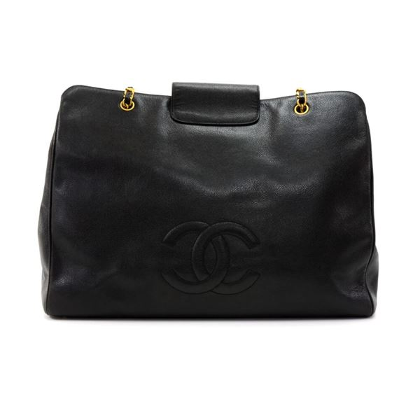 chanel-xl-supermodel-black-caviar-leather-shoulder-tote-bag-2