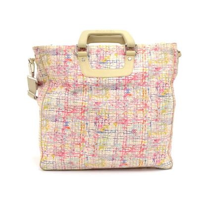 chanel-multicolor-canvas-xlarge-2way-shoulder-tote-clover-bag-2