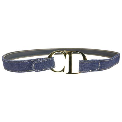 christian-dior-gold-toned-cd-denim-belt