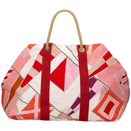 hermes-multi-colours-rapeaux-au-vent-cotton-tote-bag