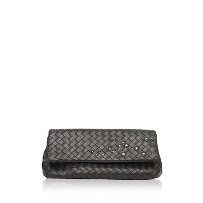 bottega-veneta-black-leather-trapeze-clutch