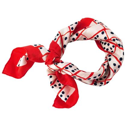 80s-bill-blass-red-white-and-blue-domino-print-scarf-2