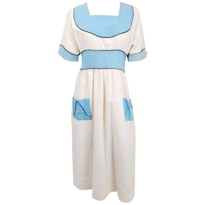 1920s-blue-and-white-lined-pinafore-dress