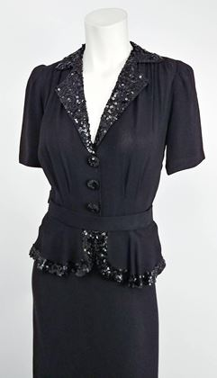 1930s-black-crepe-day-dress-with-sequins