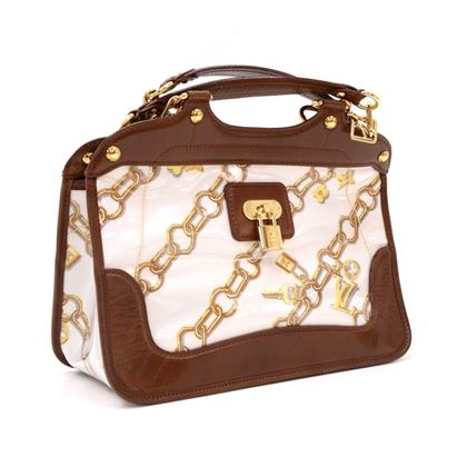 louis-vuitton-charms-lines-vinyl-x-dark-brown-leather-hand-bag-2