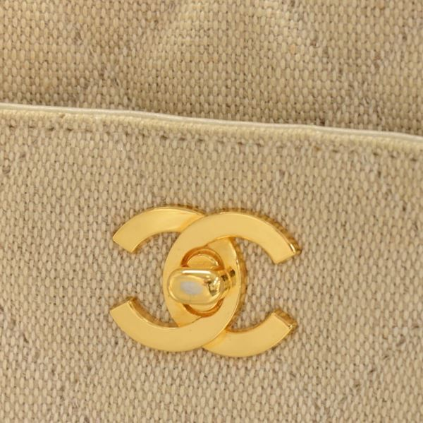 chanel-beige-quilted-canvas-tote-shoulder-hand-bag-2