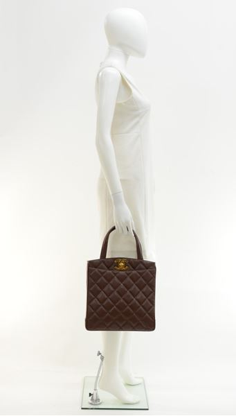 chanel-11-brown-quilted-caviar-leather-tote-hand-bag