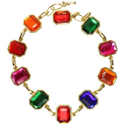 80s-octagon-multicoloured-gold-toned-link-beltnecklace-2