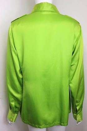 gucci-by-tom-ford-green-satin-silk-shirt-2