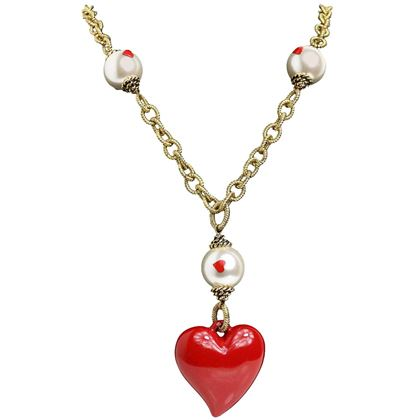 moschino-pearl-with-heart-shape-pendant-gold-metal-cable-chain-necklace-2
