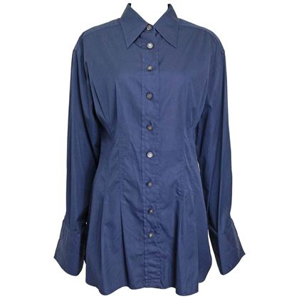 chanel-navy-cotton-collar-shirt-with-cuff-2