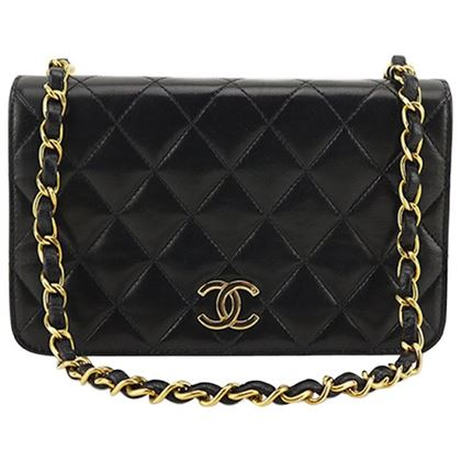 chanel-classic-black-lambskin-leather-quilted-full-flap-shoulder-bag-2