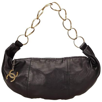 chanel-black-lambskin-leather-cc-ring-hobo-bag-2