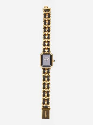 chanel-black-leather-gold-plated-watch-2