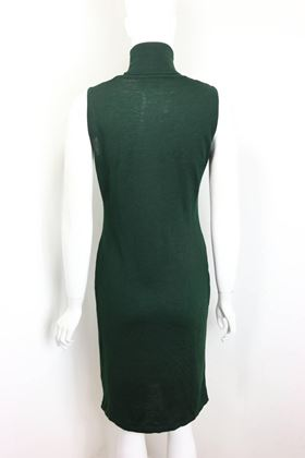 versace-jeans-couture-green-wool-sleeveless-turtle-neck-dress-2