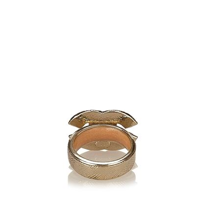 chanel-gold-toned-with-pink-rhinestone-studded-ring-2
