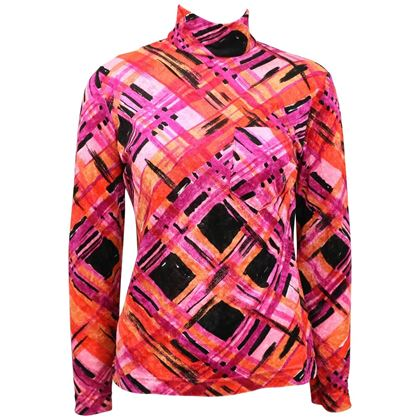 philosophy-by-alberta-ferretti-multi-coloured-pattern-high-neck-top-2