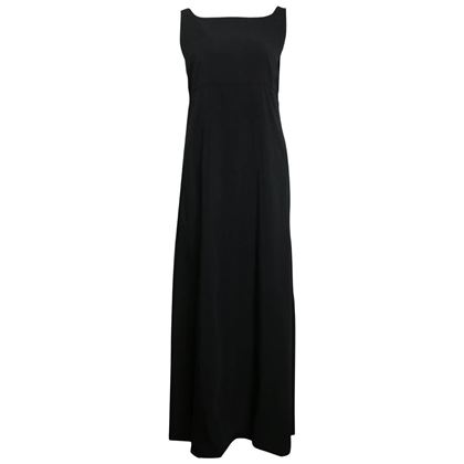 chanel-black-a-line-jersey-maxi-dress-2