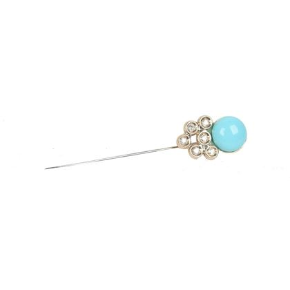 vintage-18k-yellow-gold-pin-stick-lapel-hat-brooch-w-turquoise-3