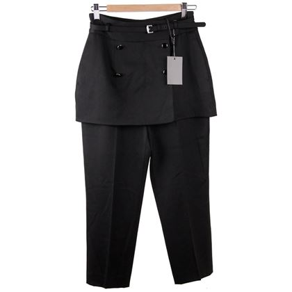 alexander-mcqueen-black-virgin-wool-trousers-pants-w-skirt-panel-size-42-2