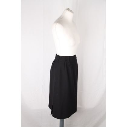courreges-paris-hyperbole-vintage-black-straight-skirt-size-0-2