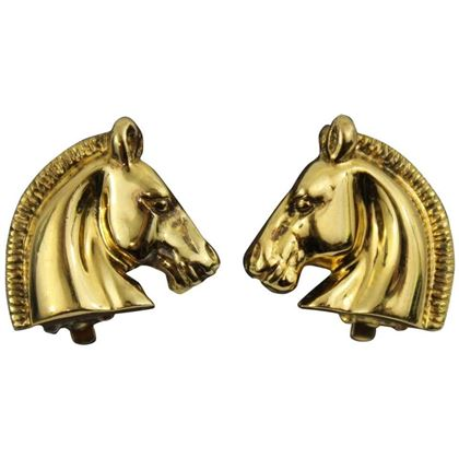 vntage-hermes-gold-plated-horse-earrings-2