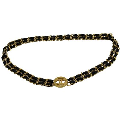 vintage-chanel-golden-metal-and-black-leather-chain-belt-2