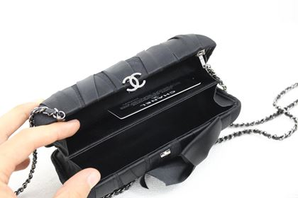chanel-black-evening-silk-clutch-with-silver-hardware-2