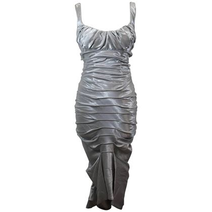 amazing-2006-paco-rabanne-silver-dress-gown-size-36-french-2