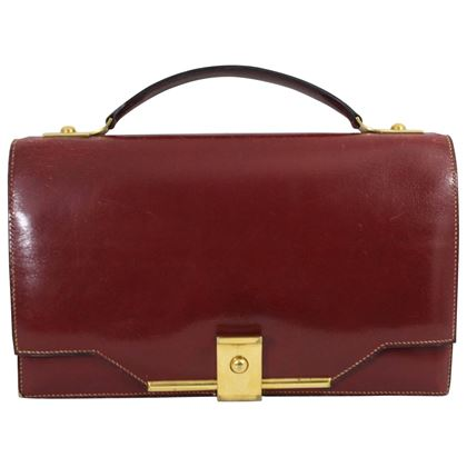 vintage-hermes-red-bordeaux-box-leather-and-golden-hardware-clutch-2