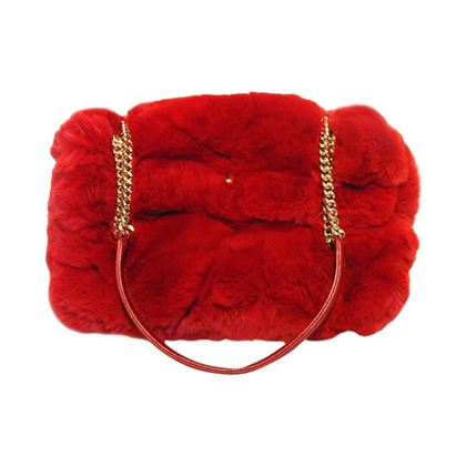 chanel-red-rabbit-fur-classic-limited-edition-flap-bag