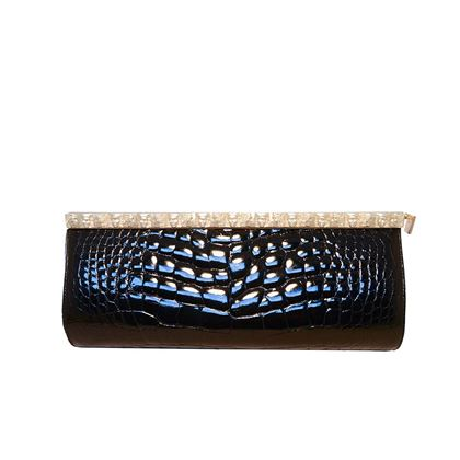 barry-kieselstein-cord-black-alligator-clutch-2