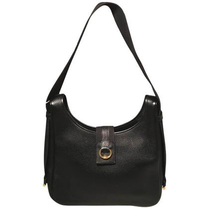 hermes-vintage-black-leather-shoulder-bag-2