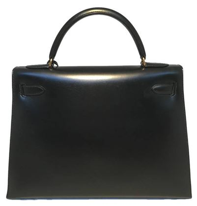 hermes-vintage-black-box-calf-32cm-kelly-bag-2